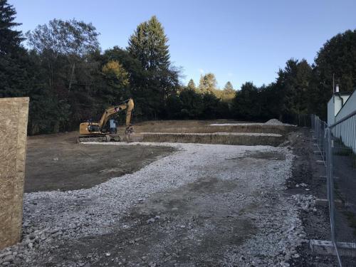30. Oktober Baufortschritt