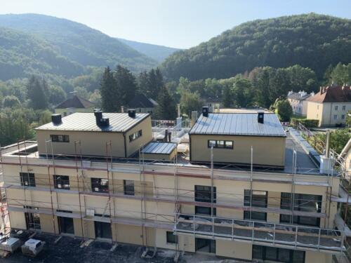 Purkersdorf Baufortschritt 15.09.2020 Das Neue Wohnen