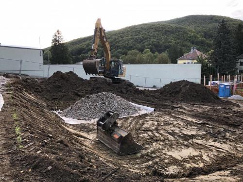 26. Oktober Baufortschritt